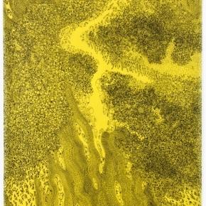 schalk-jaune-2011-encre-sur-papier-calque-jaune295x21cm-bd