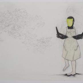 les-messagers-encre-fusain-et-vernis-sur-papier-80x120cm-2011_10