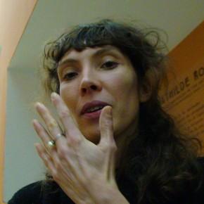 Mathilde Rosier au Jeu de Paume en 2010