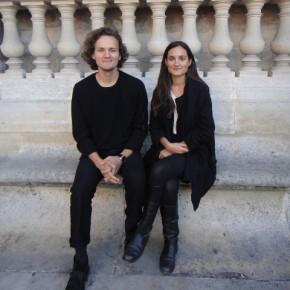Les photographes Lucie et Simon pour Paris Photo 2010