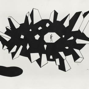 Aki Kuroda, Paris, galerie Lazarew, du 22/05 au 27/06/14