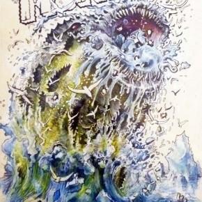 Winshluss, L'oeil de Gilles Barbier, Paris, galerie Vallois, jusqu'au 04/04/12