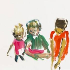 Damien Cabanes, Paris, Drawing Now Paris, galerie Eric Dupont, Carrousel du Louvre, du 11 au 14/04/13