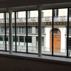 Jacques Deret, fondateur d'Art Collector, exposition Iris Levasseur, Le Studio du Patio, du 18/06 au 28/06/12
