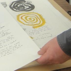 L'artiste Richard Texier dévoile ses dessins dans son atelier parisien