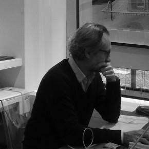 Yann Bombard, co-fondateur de la New Art Fair, Paris, Espace Cardin, du 11 au 13/01/13