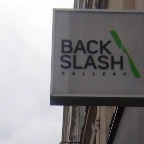 La galerie Backslash, secteur Promesses, Paris, Art Paris, Grand-Palais, du 28/03 au 01/04/13