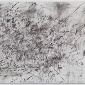 A l'écoute d'Alexandra Fau sur Julie Mehretu, New York, galerie Marian Goodman, mai 2013