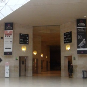 Drawing Now Paris 2013. Avant première. Carrousel du Louvre. Du 11 au 14/04/13