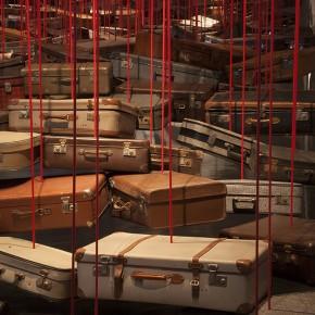 Chiharu Shiota, Paris, galerie Templon, jusqu'au 26 juillet