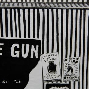 Le Gun, Café de Flore, Parcours Saint-Germain-des-Prés, du 21 au 31/10/14