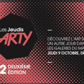 Les jeudi ARTY, Paris, deuxième édition, le 09/10/14