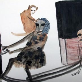 Annette Barcelo, Paris, galerie Anne de Villepoix, du 08/11 au 03/01/15