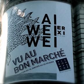 AI WEIWEI, Le Bon Marché Rive Gauche, du 16/01 au 15/03/2016