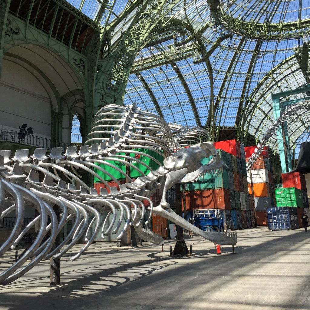 "Monumenta Empires au Grand Palais, images courtesy ""L'agence de l'art"""