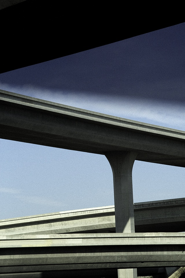 Ralph Gibson, Vertical-Horizon, Freeway.