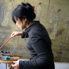 Rencontre avec l'artiste chinoise Juan Juan Li dans son atelier parisien