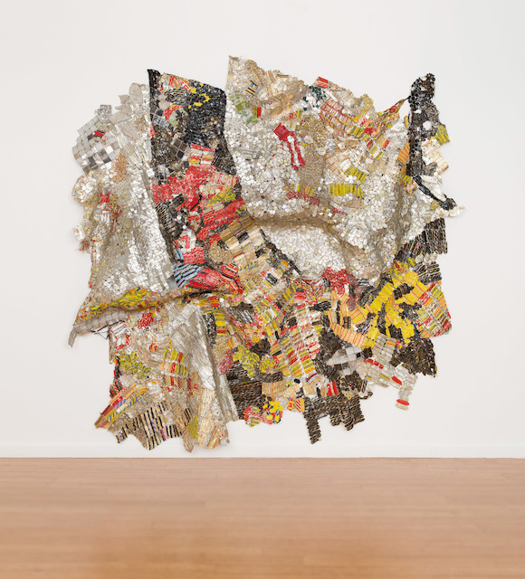 El Anatsui Focus, 2015 Installation 284 x 320 cm October Gallery , londres